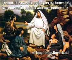 .Things Jesus Never Said