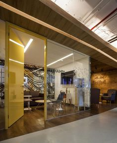 Take A Tour Of The Red Bull Office Designed by SPACE