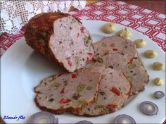 Házi szalámik, parizerek , kolbászok :: Székely kukta Homemade Manwich, Manwich Recipe, Homemade Sausage Recipes, Serbian Recipes, Hungarian Recipes, Hungarian Food, Clean Recipes, Pork Recipes, Cooking Recipes