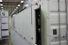 Ruger's New Mayodan North Carolina Plant – The test range is built from shipping containers and is right beside the production line. - 12
