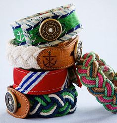 Big fan of these nautical bracelets!
