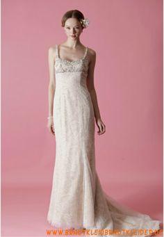 Sexy rückenfrei Brautkleid aus Organza im Meerjungfrauenstil online 2013