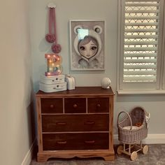 A wicker doll pram is a fantastic fun for every child. The stroller is also a beautiful addition to the children's corner. This and many other children's wicker treasures available on our website. Dolls Prams, Coffee Colour, Dresser As Nightstand, Wicker, Corner, Child, Website, Wood, Fun