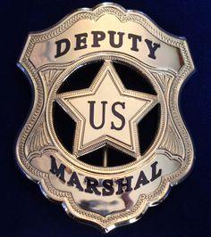 Deputy US Marshall badge.