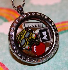 Mention Aleksandra Dennis to get best deal! Hey, I found this really awesome Etsy listing at https://www.etsy.com/listing/176112232/teacher-floating-charm-set-school-bus