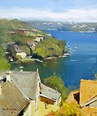 Artist Colley Whisson Paintings | Colley Whisson - Oil painter and tutor, impressionistic landscape ...