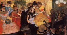 The Cafe Concert, 1877  Edgar Degas