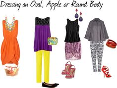 More On Dressing An Oval Body Shape