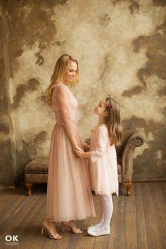 фотосессия мама и дочь
