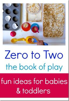 a book full of baby play ideas that will help you enjoy parenting a baby and bond with your baby.