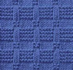 Knitting pattern (particularly good for blankets and much easier than it looks . Knitting pattern (particularly good for blankets and much easier than it looks!) Record of Knitting String rotating, wea. Knit Purl Stitches, Knitting Stiches, Easy Knitting, Loom Knitting, Dishcloth Knitting Patterns, Knit Dishcloth, Knitted Washcloths, How To Purl Knit, Knit Or Crochet