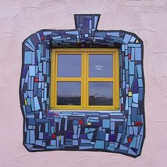 Hundertwasser House, window detail