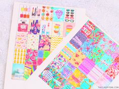 The Classy It Girl: Free Planner Stickers