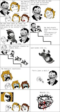 My dad is a troll - funny pictures #funnypictures