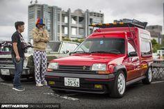 Custom Street Car Heaven In Odaiba - Speedhunters Renault 5 Gt Turbo, Alpine Renault, Europe Car, Automobile, Small Campers, T Bucket, Cool Vans, Mercedes, Custom Vans