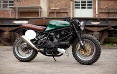 Ottonero Cafe Racer: Ducati SuperSport 600