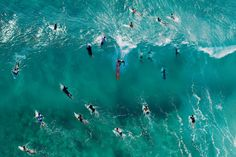 Helicopter view, Snapper Rocks Gold Coast, Australia