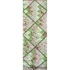 quilted table runner patterns free easy | Six of 25 Table Runner Pattern 4596-1 Pattern