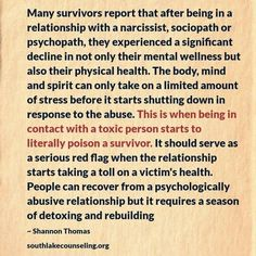 A recovery from narcissistic sociopath relationship abuse