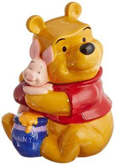 Amazon.com: Westland Giftware Winnie the Pooh Hugging Piglet Cookie Jar: Kitchen & Dining