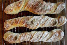 En doft av Nybakt: Baguetter som jäser över natten Bread Baking, Baguette, Blogg, Recipies, Good Food, Brunch, Cupcakes, Breakfast, Bakeries