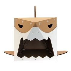Jaws Cardboard Cat House,Unique Cat Furniture,Cat Toy,Cat Bed,Cat Cave,Cat Condo,Cat Gift,Items For Cats by CacaoFurniture on Etsy