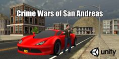 Buy Crime Wars of San Andreas - Unity GTA Game by electricpunch on Codester. Open world action game with racing elements San Andreas, Gta, Unity, Crime, Racing, Games, Running, Auto Racing, Gaming