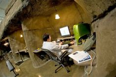 Inventionland Cave Office. Also: pirate ship and racetrack offices.