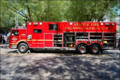 fire station 5 seattle | Seattle Fire Dept. Hazmat 1
