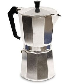 Primula Aluminum Espresso Maker - Aluminum - For Bold, Full Body Espresso - Easy to Use - Makes 6 Cups: Stovetop Espresso Pots: Kitchen & Dining Coffee And Espresso Maker, Best Espresso, Coffee Set, Espresso Coffee, Coffee Maker, Coffee Mugs, Coffee Machine, Ground Coffee Beans, Camping Coffee