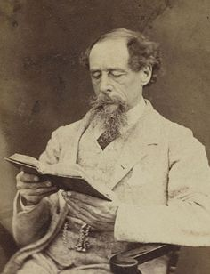 This photo of Charles Dickens was taken in December 1844, during a visit to the United States. He gave public readings of A Christmas Carol in theaters to promote the book, and copies were in high demand.