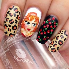 PinUp Girl Nails