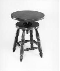 I think everyone needs an old fashioned piano stool