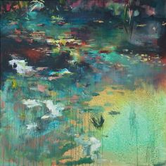 "Saatchi Art Artist Lies Goemans; Painting, ""What Lies Beneath 11"" #art"