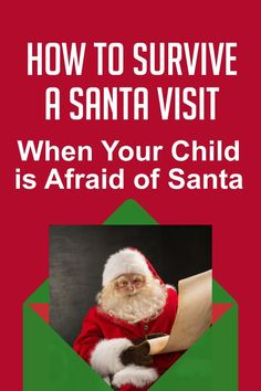Want to have your child meet Santa but struggling because they're afraid? Check out these tips for how to survive a Santa visit when your child is afraid of Santa! #meetSanta #Christmas #parenting #toddlers #baby Christmas Crafts For Kids, Family Christmas, Christmas Decorations, Meet Santa, Red Suit, Parenting Toddlers, Sounds Good, Christmas Traditions, Your Child