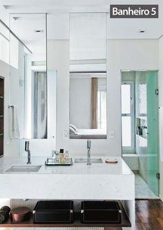 Reforma de cinco banheiros com tempo de obra e fotos de antes e depois - Casa