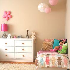 Toddler girl bedroom - my little girl's big girl room