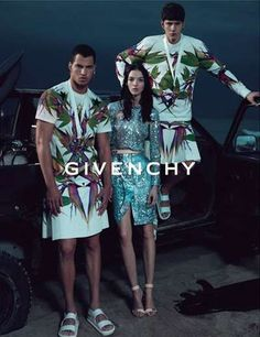 Mariacarla Boscono Stars in the Givenchy Spring Summer 2012 Campaign trendhunter.com
