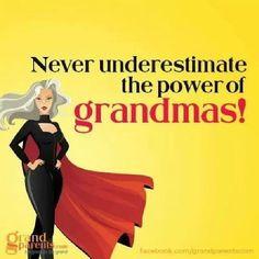 ❥❥❥Never underestimate the power of Grandmas!❤️