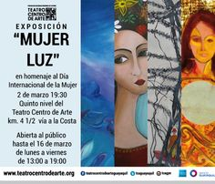 Exposición de pinturas Mujer Luz