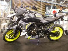 Yamaha MT07 2016 twin colors by Ermax Design