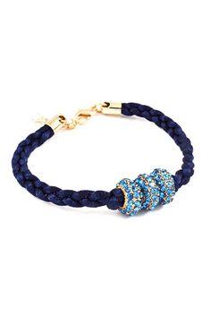 Sapphire Crystal Charm Bracelet | Awesome Selection of Chic Fashion Jewelry | Emma Stine Limited