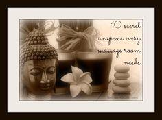 10 secret weapons every massage room needs