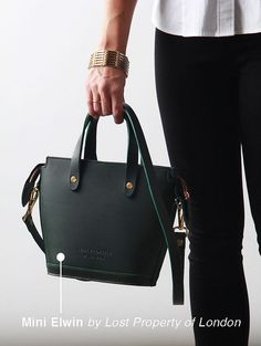 Mini Elwin by Lost Property of London | Perpetually Chic by laurenhcraig, via Flickr