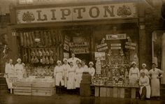Lipton 222 Shields Road Byker Unknown by Newcastle Libraries Old Pictures, Old Photos, Vintage Photos, Durham City, North Shields, Belle Epoch, North East England, Old Photographs, Going Out Of Business