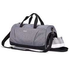 d11a23244f02 Sports Gym Bag with Shoes Compartment Multi-use Travel Duffel Bag for Men  and Women