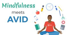 indfulness has become a movement in education. Learn how one AVID teacher uses it to reduce stress and improve organization in her students! #MondayMotivation #MindfulMonday