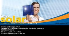 Intersolar Europe 2013 The World's Largest Exhibition for the Solar Industry  뮌헨 태양광 박람회