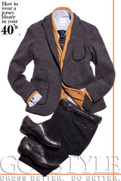 How To Wear A Jersey Blazer At Every Age: In Your 40's | GOTSTYLE.CA