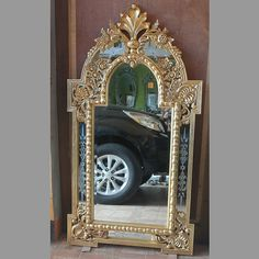 Wooden Frame Mirror Rama MG 030005